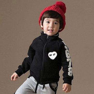 Áo Khoác Tiger Mini Aiden Cho Bé Màu Đen