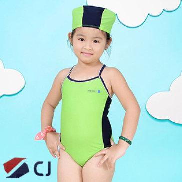 Combo Đồ Bơi & Nón Bơi Bé Gái Nhập Khẩu Hàn Quốc CJ B003