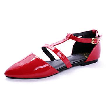 Giày Bệt Quai Ngang Mũi Nhọn Hoàng Long