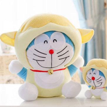 Gấu Bông Doraemon Cầm Tinh 12 Con Giáp (Bộ 2)