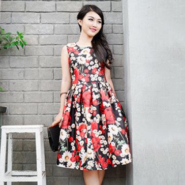 Đầm Hoa Hồng Zaza