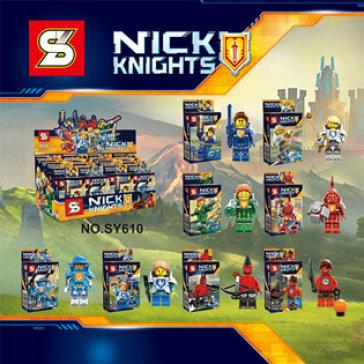 Combo 02 Hộp Đồ Chơi Lắp Ghép Nick Knights Cho Bé