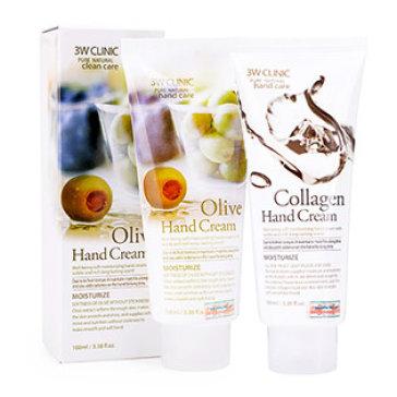 Kem Dưỡng Da Tay (Olive, Collagen) 3W Clinic