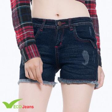 Quần Jean Nữ Short - J009M1-Eco Jean