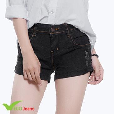 Quần Jean Short Nữ - J053M1 - Eco Jean