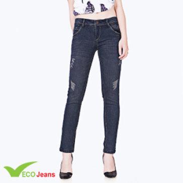 Quần Jean Dài Nữ -JNUD021M2-ECO Jean