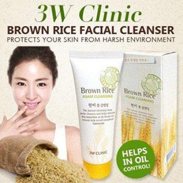 Sữa Rửa Mặt Chiết Xuất Từ Gạo 3W Clinic