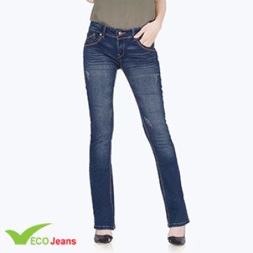 Quần Jean Dài Nữ-JNUD009B-CAMM2-Eco Jean