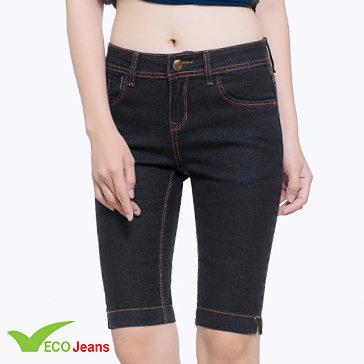 Quần Jean Lửng Nữ-Jl004m1-Eco Jean