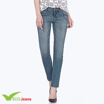 Quần Jean Dài Nữ JNUD027M2 Eco Jean
