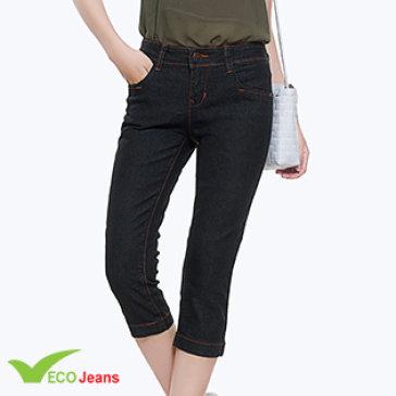 Quần Jean Lửng Nữ - JL002M1-Eco Jean