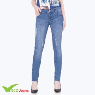 Quần Jean Dài Nữ JNUD034M2 Eco Jean