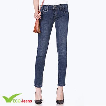 Quần Jean Dài Nữ-Jnud024m2-Eco Jean