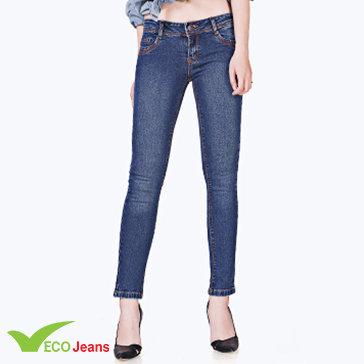 Quần Jean Nữ Dài-Jnud026m1- Eco Jean