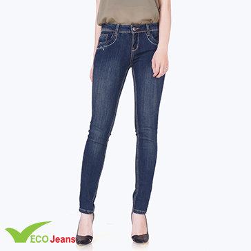 Quần Jean Dài Nữ-Jnud018am1- Eco Jean