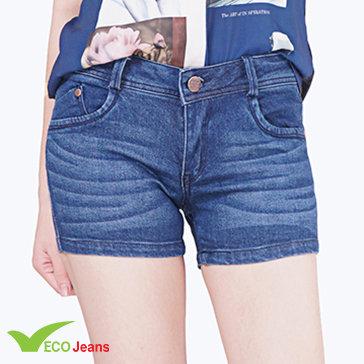 Quần Jean Short Nữ - J010M1 - Eco Jean