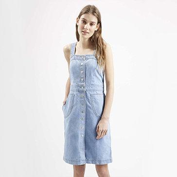 Đầm Jean 2 Dây Thời Trang