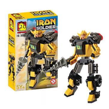 Bộ Đồ Chơi Ghép Hình Oxford Iron Soldier Series IS3051