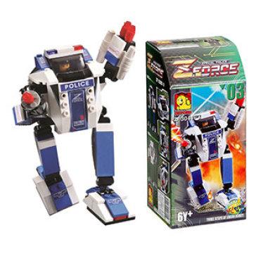 Bộ Đồ Chơi Ghép Hình Oxford Z Force Robot Series ZF0341