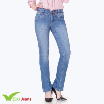 Quần Jean Dài Nữ-JNUD015CAMM2-Eco Jean