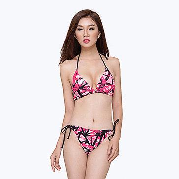 Bikini Xk Buộc Dây Họa Tiết