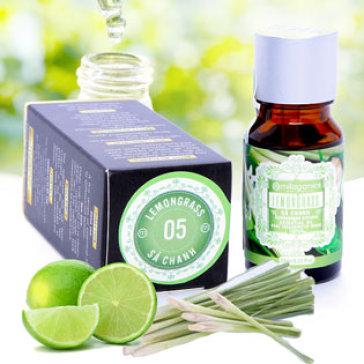 Tinh Dầu Sả Chanh Lemongrass Ấn Độ Milaganics 10ml