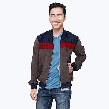 Áo Khoác Nam Kaki Nhung Thời Trang