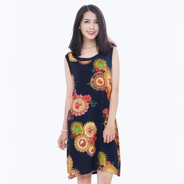 Đầm Oversize Hoa Thời Trang