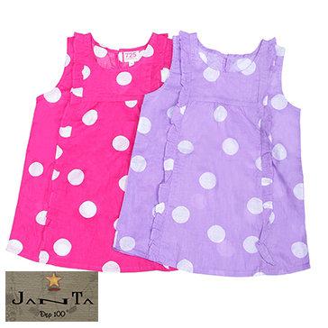 Đầm Suông Chấm Bi Janta Cho Bé