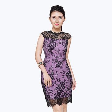 Đầm Ren Tiểu Thư Clara
