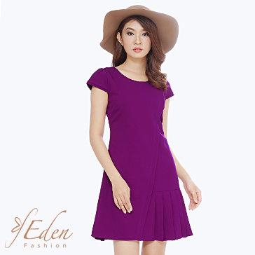 Đầm Xếp Li Thời Trang Eden
