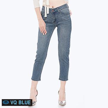 Quần Jean Xanh Lửng VQ Blue 6804-1