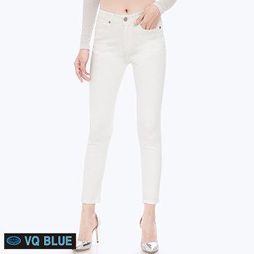 Quần Jean Trắng Basic VQ Blue 7803-3