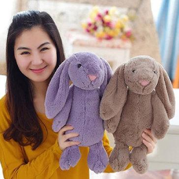 Thỏ Nhồi Bông Lông Siêu Mềm Xinh Xinh