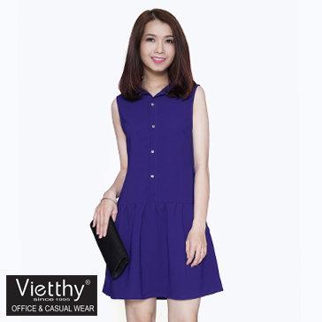 Đầm Nhún Hông Voschy