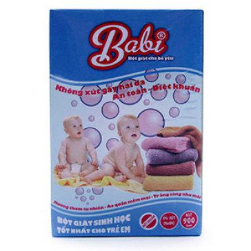Bột Giặt Sinh Học Cho Trẻ Babi 900G