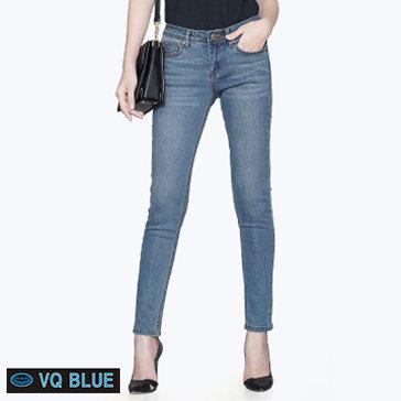 Quần Jean Xanh Trơn VQ Blue 8802-1