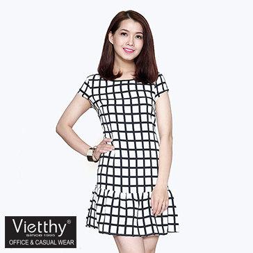 Đầm Suông Hạ Mông Voschy