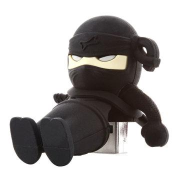 USB Bone 8Gb Ninja Black - USB 2.0