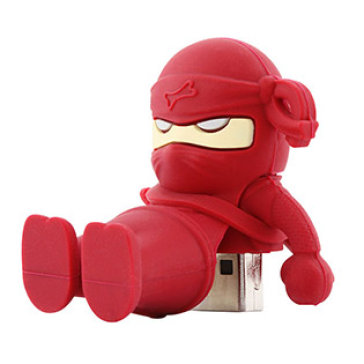 USB Bone 16Gb Ninja Red - USB 2.0