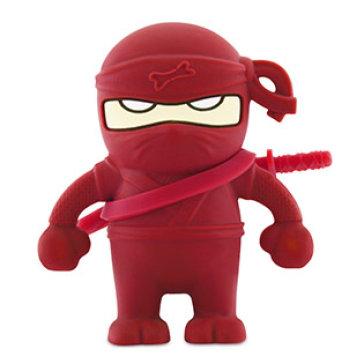 USB Bone 8GB Ninja Red - USB 2.0