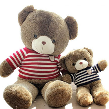 Gấu Teddy Nhồi Bông Lông Siêu Mềm Size Vừa
