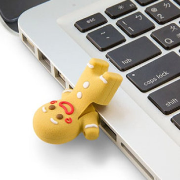 USB Bone 16GB Gingerman II - DR15091-16LBR
