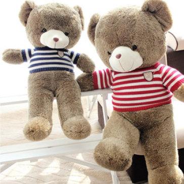 Gấu Teddy Nhồi Bông Lông Siêu Mềm Size Lớn