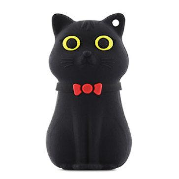 Usb Bone 16GB Cat Black- USB 2.0
