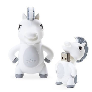 Usb Bone 16Gb Hourse - DR15111-16W