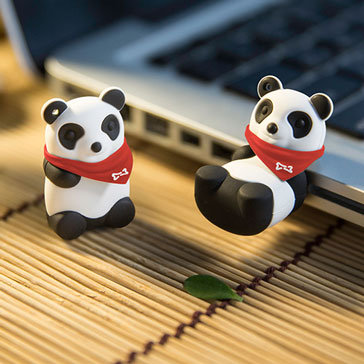 Usb Bone 16Gb Panda II - DR15051-16W