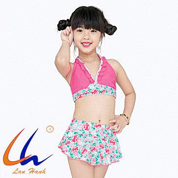 Bộ Váy Bơi Bé Gái 22004 - BST Lan Hạnh