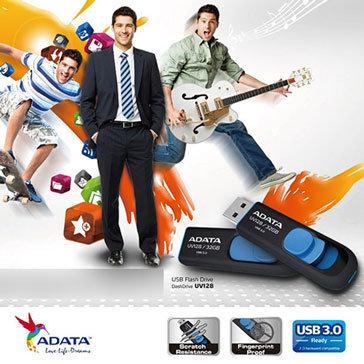 USB Adata UV128 16GB - 3.0