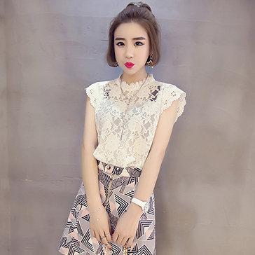 Áo Ren Trắng Yoe Fashion